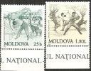 Moldova  1999  MNH**  -  Yv. 267/268 - Lotta