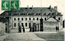 N°47949 -cpa Alençon -la Caserne Ernouf- - Caserme