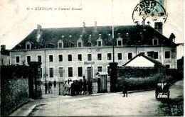 N°47948 -cpa Alençon -la Caserne Ernouf- - Caserme
