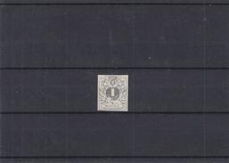 Belgique- Essai Non Adopté Du 1c ( * )  - Type 1 - Repertorié Au Cat Gruben - Proofs & Reprints