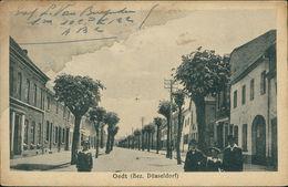 AK Grefrath Oedt, Straßenpartie, O 1918, Großer Wasserfleck Im Linken Oberen Bereich (11216) - Sonstige