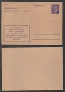 ALLEMAGNE - III REICH / 1943 ENTIER POSTAL DE PROPAGANDE / 2 IMAGES - VOIR DETAIL (ref 6501) - Lettres & Documents