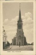 AK Grefrath Oedt, Kath. Pfarrkirche, Um 1919, Ecken Bestoßen (11218) - Sonstige