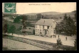 55 - ECOUVIEZ - CAFE DE LA GARE - EDITEUR GERACH - France
