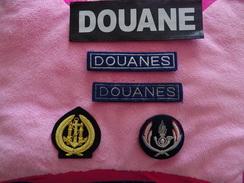 écusson Police, Douane /  Lot Avec Et Sans Velcro - Police