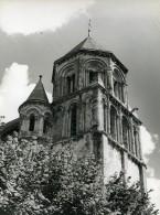 France Poitiers Église Sainte Radegonde Ancienne Photo 1960 - Places