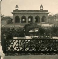 Inde Agra Piscine Des Dames Ancienne Stereo Photo Kurt Boeck 1906 - Stereoscopic