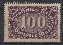 Germany 1922 Ziffern (**) MNH  Mi.219 - Allemagne