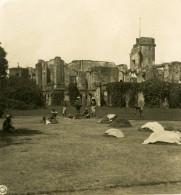 Inde Lucknow Ruines De La Révolte De 1857 Ancienne Stereo Photo Kurt Boeck 1906