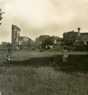 Inde Lucknow Ruines De La Révolte De 1857 Ancienne Stereo Photo Kurt Boeck 1906 - Stereoscopic