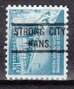 USA Precancel Vorausentwertung Preos Locals Kansas, Strong City 821