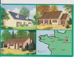 D78 - COIGNIERES - CARTE PUBLICITAIRE DU CONSTRUCTEUR FLORILEGE - MULTIVUES - CPSM Grand Format - France