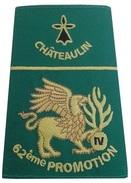 Gendarmerie Fourreau 62° Promotion Ecole CHATEAULIN - Patches