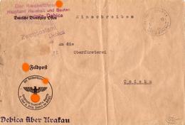 Der Reichsführer SS Hauptamt Haushalt Und Bauten Außenstelle Debica 1942 - Deutschland