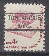 USA Precancel Vorausentwertung Preos Locals Kansas, Tonganoxie 804