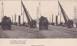[44] Loire Atlantique > Nantes Carte Strereo Scènes De Port Aspect Des Quais De La Fosse - Nantes