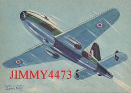 CPM - GLOSTER E. 28/29 à Réaction ( G.-B. ) COLLECTION DES AVIONS ALLIES - Edit. L. E. P. Paris - Scans Recto-Verso - 1939-1945: 2ème Guerre
