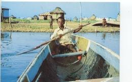 Afrique : Benin - Village Lacustre De Ganvié - Promenade Sur L'eau (cp Vierge) - Benin