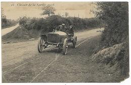 Circuit De La Sarthe 1906  Jonction Des Routes De CHERRE Et De LA FERTE - DE LA TOULOUBRE L'équipe BAYARD CLEMENT - ETAT - Automovilismo
