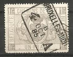 Belgique - Chemin De Fer - TR6   Obl. BRUXELLES-MIDI - Used