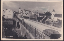 Črnomelj, Bridge, Mailed 1941, Stamp Removed - Slovenia