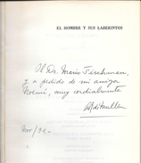 EL HOMBRE Y SUS LABERINTOS - ALICIA REGOLI DE MULLEN AFORISMOS EDICIONES LETRAS DE BUENOS AIRES AÑO 1991 MAS DE 130 - Cultural