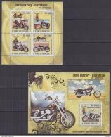 A40 Sao Tome And Principe - MNH - Transport - Motorbikes - 2008 - Motorbikes