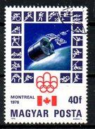 HONGRIE. N°2501 Oblitéré De 1976. J.O. De Montréal/Satellite .