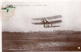 V9466 Cpa Aviation -   Grand Prix D'Aviation 1908, L'aéroplane Farman - Luchtvaart