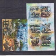 C40 Mozambique - MNH - Animals - Mammals - Rhinoceros - 2011