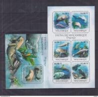 C40 Mozambique - MNH - Animals - Marine Mammals - 2011