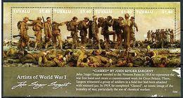 Tuvalu 2015 MS  MNH WWI Artists First World War I John Singer Sargent