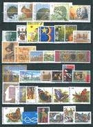 Belgique N°2477 A 2511  Complet  Timbres De 1992/93   Neufs ** Sans Charnières ,cote + De 61€ - Nuevos