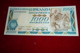 5 Billets RWANDA ANNEE 1960 à 2000 Unc - Rwanda