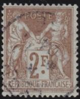 France   .     Yvert   .     105          .       O     .      Oblitéré