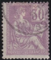 France   .     Yvert   .     115       .       O     .      Oblitéré