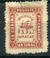 SAINT-THOMAS LA GUAIRA ( BAREAUX POSTE ) Y&T N° 12a  TIMBRE  OBLITERE , A  VOIR . - Central America
