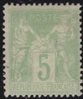 France   .     Yvert   .     102      .         *       .       Neuf  Avec  Gomme  Et Charniere