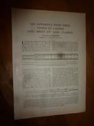 1917 LSELV :Appareils Pour Tirer FUSILS Et CANONS Sans Bruit Et Sans Flamme,par Charles Clemandon Officier D'artillerie - Documents
