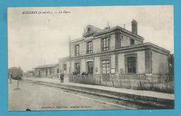 CPA - Chemin De Fer Gare De ACHERES 78 - Acheres
