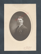 ANCIENNE PHOTO TYPE CARTE DE VISITE PHOTO A. DUBUIS ROANNE Mr M. MICHARD : - Persone Identificate