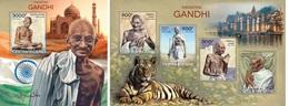 Centrafrica 2014, Gandhi, 4val In BF +BF