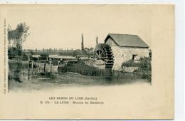 72 - LE LUDE -- Moulin De Malidore - Dos Simple - Frankreich
