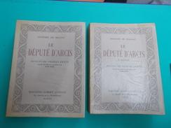 "HONORE DE BALZAC "" LE DEPUTE D'ARCIS ""  Tome I + II EDIT. DU CENTENAIRE 1952 ALBERT GUILLOT  DESSINS CHARLES GENTY - Libri, Riviste, Fumetti"