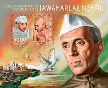 Centrafrica 2014, J. Nehru, Gandhi, BF