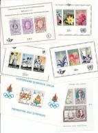 Belgique - 6 Feuillets  - Neufs Sans Charnières - Stamps