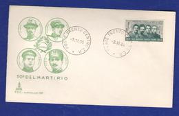 FDC 1966 Filzi Battisti Chiesa 40 Lire Capitolium - FDC