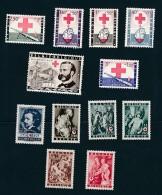 België - Belgique 2 Séries **/ MNH  - Croix Rouge - Stamps