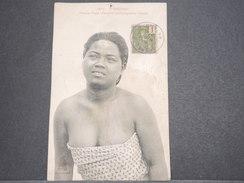 CAMBODGE - Carte Postale D ' Une Femme Cambodgienne , Voyagé Début 1900 - L 7527 - Cambodia