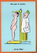 BON POUR LE SERVICE1966     LASSALVY    Carte Vierge N° 48244 - Humour